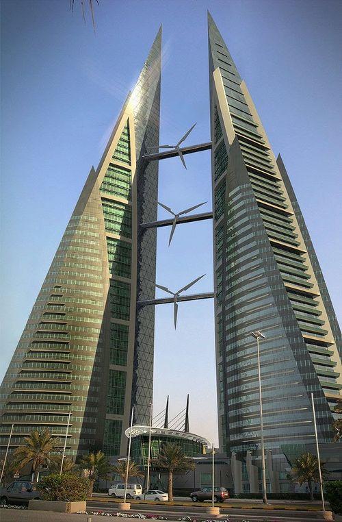 Anara tower: небоскреб в виде турбины в дубаи