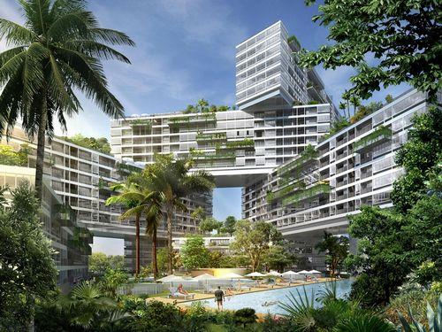 Архитектурный «оскар» 2015 года получил квартал-тетрис в сингапуре