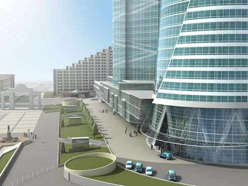 Бизнес-центры москвы: широкий выбор офисов в аренду