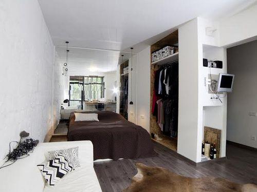 Квартира недели: холостяцкая берлога дизайнера интерьеров