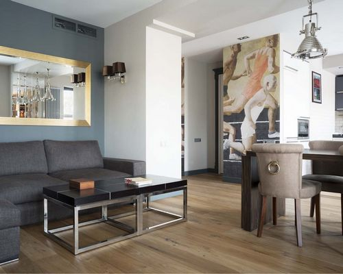 Квартира недели: московские апартаменты для молодого холостяка