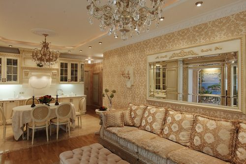 Квартира недели: московский дворец из золота