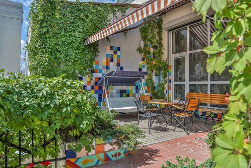 Квартира недели: свой сад на крыше в центре москвы