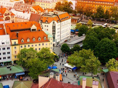 Мюнхен как место запрограммированных, маленьких радостей