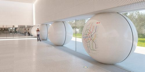 Москвичи выбрали дизайн трех новых станций метро