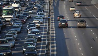 Москву ожидают пробки на рублевке, кутузовском и ленинском проспектах