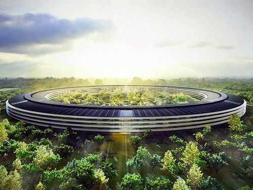 Новый офис apple будет похож на творение советского архитектора