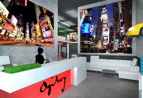 Офис недели: атмосфера манхэттена в московской компании