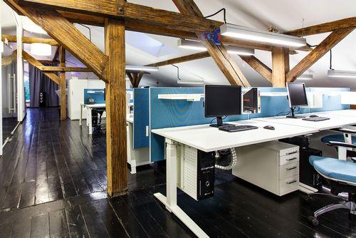 Офис недели: мансарда для архитекторов в москве