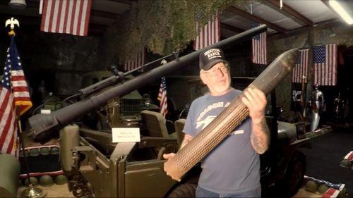 Пенсионер из сша — самый вооруженный человек планеты