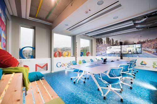 Переговорки в саунах: во что превратили офис google в будапеште