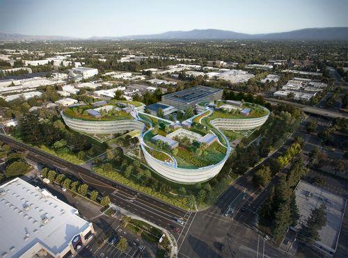 Реки на крыше: какой будет новая штаб-квартира apple