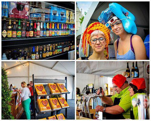 Самые яркие моменты пивного фестиваля в антверпене
