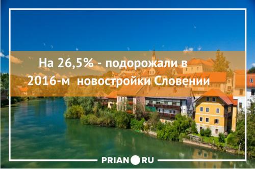 Словения дорожает быстрее всех – и еще 8 фактов о новостройках европы