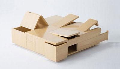 Топ-10 функциональной мебели для небольших квартир. фото