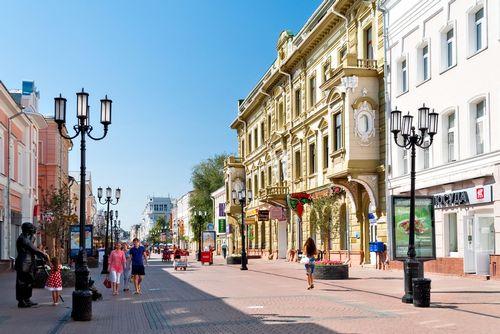 В каждом городе подмосковья появятся пешеходные улицы
