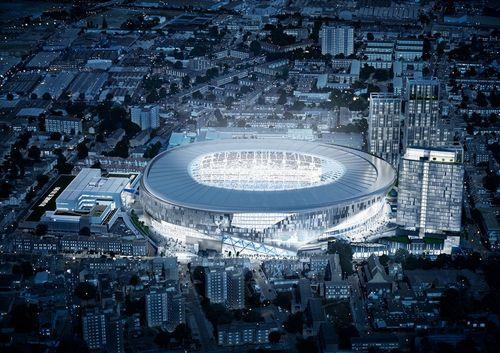 В лондоне построят двухуровневый стадион с раздвижным полем