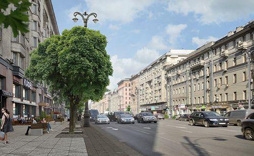 В москве назвали победителя конкурса на благоустройство тверских улиц