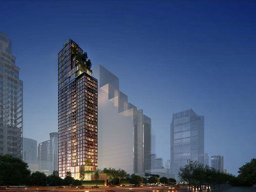 В паттайе начнется строительство элитного жилого комплекса lofts southshore