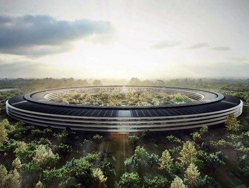 В сми попали изображения новой штаб-квартиры apple