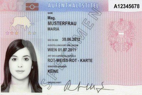 Визовый режим и вид на жительство в австрии