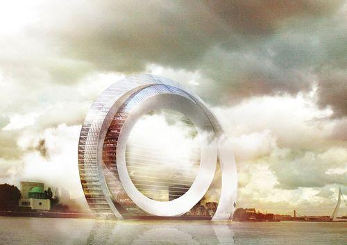 Властелин колец: в голландии построят инновационную ветряную мельницу